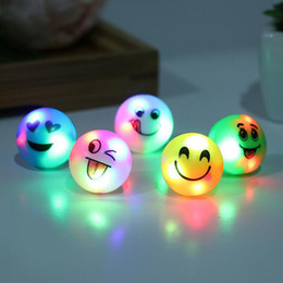 Glow Party Decorations Canada - Colorful Glow Flashing LED Finger Ring Fun Luminous Smiling Face Flash Ring Led Toy Party Decoration Supplies ZA3645