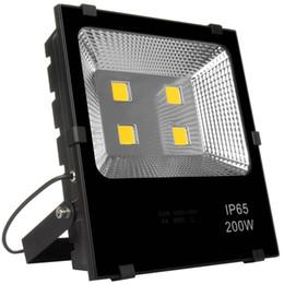 Wall Projector Lights UK - Super Bright 200W LED Flood Lights AC 85-265v Waterproof IP65 Spotlight Outdoor Security Lights Wall Lamp Projectors Landscape Lighting