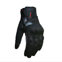 Discount gloves motorcycle motorbike - Wholesale- Motorcycle Gloves Summer Guantes de la motocicleta Glove Full Finger Motorbike Luvas Screen Touch Cycling Rac
