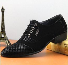 $enCountryForm.capitalKeyWord Canada - New style italian fashion men's trend pointed toe flats men wedding shoes male japanned leather shoes black brogue formal Z520