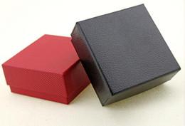 $enCountryForm.capitalKeyWord Canada - 7.3 * 7.3 * 3.5cm high-grade imitation leather jewelry box ring earrings box jewelry box