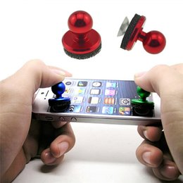 Iphone game controllers online shopping - Mini Tactile Game Controller Mini Joystick For iPhone IPad Touch Android Device Cellphone Roker Sucker Mobile Joystick