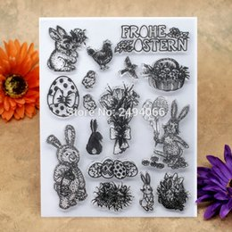 Clear easter eggs nz buy new clear easter eggs online from best wholesale easter egg rabbit chicken scrapbook diy photo cards account rubber stamp clear stamp transparent stamp 14x18cm 7022630 negle Choice Image