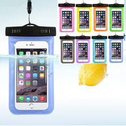 Iphone under water online shopping - For iphone Dry bag Waterproof Pouch Case universal Clear WaterProof Bag Underwater Cover fit for all of the smart phone under inches