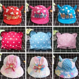 ed5b808ebbc55e 2017 Korean Fashion Cartoon Snapback Cotton Baseball Hats for Baby Boys  Girl Summer Soft Casquette Hat Sun Ball Cap