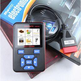 Nueva llegada de alta potencia y escáner OBD2 portátil Lector de código OM580 Profesional herramientas de diagnóstico automático 12V en venta