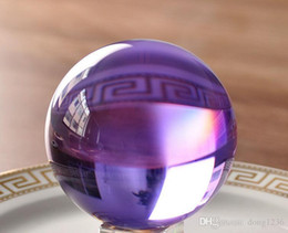 $enCountryForm.capitalKeyWord Canada - 60mm amethyst Magic Crystal Healing Ball Sphere With Crystal Stand Decor