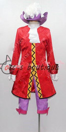 Barato Peter Cosplay-Captain Hook Cosplay Costume Homens adultos Peter Pan