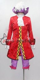 Peter Pan Cosplay Pas Cher-Captain Hook Cosplay Costume Homme adulte Peter Pan
