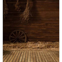$enCountryForm.capitalKeyWord Canada - Vintage Indoor Photography Backdrops Wood Floor Straw Children Photo Studio Backgrounds Kids Booth Picture Shoot Props Wallpaper Vinyl Cloth