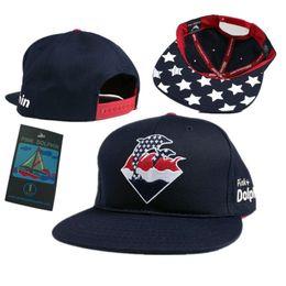 2018 New Hot Sale Snapback Hat Adjustable Pink Dolphin Ocean Sport Baseball  Cap For Men Women free shipping 7bacb9218e80