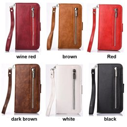 Luxury Credit Card Iphone Canada - For iphone 7 Wallet Case Luxury PU Leather Magnet Wallet Flip Case Cover with Credit ID Card Slots Holder Holster for iphone 7 Plus