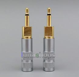$enCountryForm.capitalKeyWord NZ - Earphone Pins For Sennheiser HD700 Headphone Cable DIY Connectors Knurling Shell Adapter