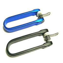 E-51 Herramienta EDC venta caliente tipo U carpeta de la llave de aleación de aluminio accesorios de almacenamiento llavero al por mayor 20 Unids / lote Herramientas al aire libre