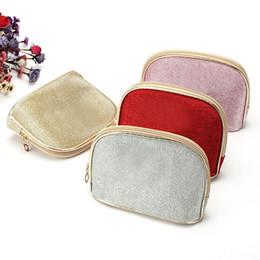 $enCountryForm.capitalKeyWord Canada - Wholesale- Beauty Shell Shape Makeup Bag Storage Traveling Shell Zipper Cosmetics Cases Bag Phone Purse Cosmetic Bag Pouch 40