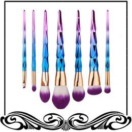 Vente en gros Kit de pinceau professionnel Vander 7pcs crème puissance professionnelle pinceaux de maquillage beauté polyvalent Puff Puff lot Kabuki Blusher date