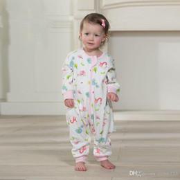2017 moda hermosa de alta calidad Carácter saco de dormir de algodón Primavera y Otoño nuevos bebés para el clima frío unisex tamaño pequeño