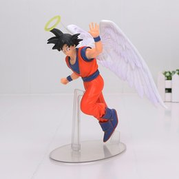 Angels Figures Australia - 17cm Dragon Ball Z Angel Son Goku Banpresto Dramatic Showcase 5th season vol.1 PVC Figure Collectible Model Toy