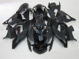 $enCountryForm.capitalKeyWord Canada - Injection molded 100% fit for Kawasaki Ninja ZX14R 06 07 08-11 black fairings set ZX14R 2006-2011 OT17