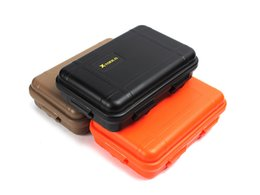 travel storage boxes NZ - Large Size Outdoor Travel Shockproof Plastic Waterproof Box Storage Case Airtight Container Carry Camping Tool Holder