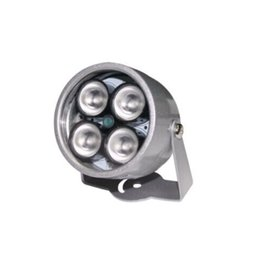 ir light for cctv camera UK - cctv 4 array IR led illuminator Light CCTV IR Infrared Night Vision For Surveillance Camera Waterproof 40m illuminator Fill Assist