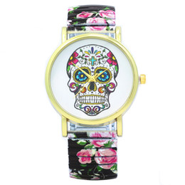 $enCountryForm.capitalKeyWord Canada - Wristwatches Fashion Women's Watches Elastic steel Quartz Watch Flower Skeleton Watches Personality Casual Fashion Dress Watch Relogio W0113