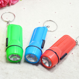 Wholesale Small flashlight charging outdoor light lamp holder home LED flashlight plastic flashlight
