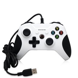 Joystick for pc computer online shopping - Cheap Game Controller Gamepad USB Wired Game Control PC Joypad Joystick Accessory For Xbox One Slim S Game Controller Laptop Computer