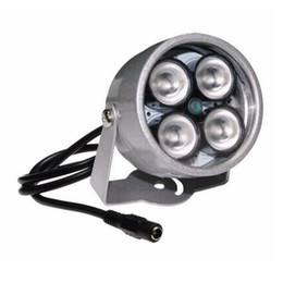 ir cctv lighting NZ - cctv 4 array IR led illuminator Light CCTV IR Infrared Night Vision For Surveillance Camera