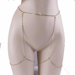 Fashion Brand Claw Crystal leg Chain Body Jewelry Sexy Women Rhinestone Anklet Belly Chains Geometric Club Night Rock Chain 2017 on Sale