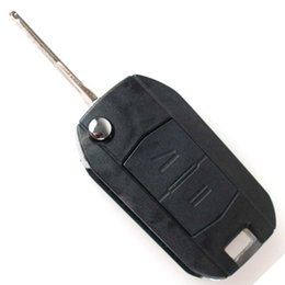 Wholesale Guaranteed BUTTON REMOTE FOB FLIP KEY Car CASE UPGRADE FOR VAUXHALL OPEL CORSA C MERIVA COMBO