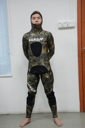 $enCountryForm.capitalKeyWord Canada - Professional 3MM 5MM 7MM High Quality Neoprene Diving Suit -Camo Spearfish Wetsuit jacket and pant set