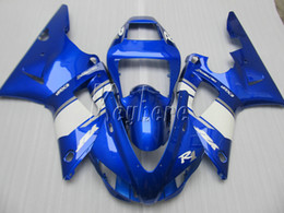 99 yamaha r1 Canada - Top selling body parts fairing kit for yamaha YZF R1 98 99 blue white fairings set YZF R1 1998 1999 IY25