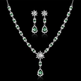 Earrings matching nEcklacEs online shopping - bride suit all match Necklace two sets high grade quality direct selling jewelry JS100471