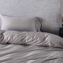 100 egyptian cotton bedding set gray grey gris color duvet cover set sheet set light blue pink bedding set excellent quality - 100 Egyptian Cotton Sheets