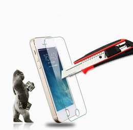 Iphone Glass Screen Guard UK - For iphone 7 Tempered Glass Screen Protector Film Guard 9H Hardness with Retail Package High Quality