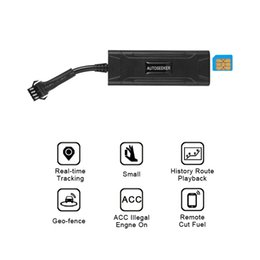 Gps Gsm Gprs Tracker At  With Acc Illegal Engine On Alarm Cut Fuel For Truck Car At A