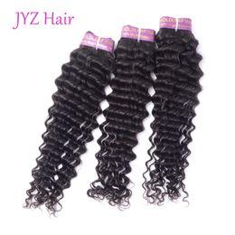 $enCountryForm.capitalKeyWord Australia - Brazillian Peruvian Indian Malaysian Virgin Hair Deep Wave 100% Curly Wave Human Hair Bundles Unprocessed Natural Color Human Hair