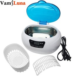 Sterilizer Salon online shopping - Nail tools sterilizer ML Ultrasonic autoclave Cleaner For Nail Metal tool Watch Salon Beauty Equipment