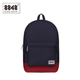 Wholesale- 8848 Brand School Backpack Bag Male Backpacks Men Preppy Style  Polyester Knapsack Pattern Type Teenager Student 102-054-004 a6cf9fc362834