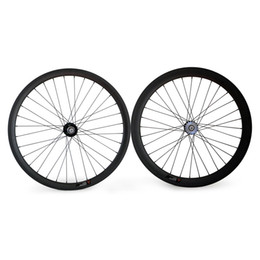 $enCountryForm.capitalKeyWord Canada - Track Bike Wheels Rear 25mm Width Carbon Fixed Gear Wheels 700C carbon wheel
