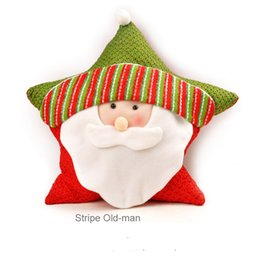 $enCountryForm.capitalKeyWord Australia - Good Wholesale Holiday gift Hot sale Christmas pillow bolster for children gift on Chiristmas day with 6 defferent types Christmas bolster