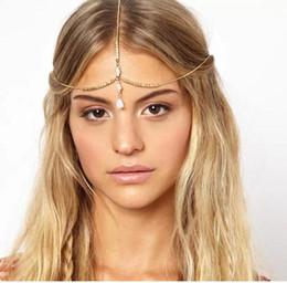 $enCountryForm.capitalKeyWord NZ - 36PCS Beautiful shell hair accessories Wedding Bridal Hair Accessories Beaded Pearls Head Chain Indian Women Hair Jewelry F302
