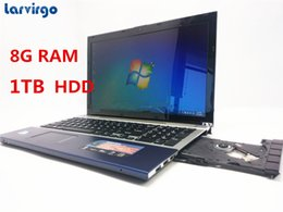 Netbook Blue Canada - 15.6 Inch PC Computer Windows7 8 With DVD-RW 8GB +1TB HDD Laptop Qual Core Atom 1.99GHz Wifi notebook netbook 1920*1080P