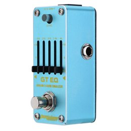 $enCountryForm.capitalKeyWord Canada - AROMA AEG-3 GT EQ Analog 5-Band Equalizer Electric Guitar Effect Pedal Mini Single Effect with True Bypass Guitarra Effect Pedal