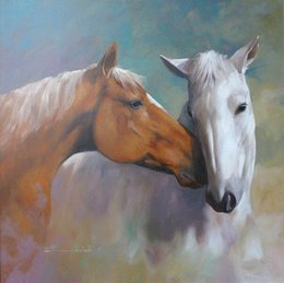 $enCountryForm.capitalKeyWord UK - Framed White Horse Home Deco ,Pure Hand Painted Animals Art Oil Painting On High Quality Canvas.Multi sizes Available Free Shipping HS003