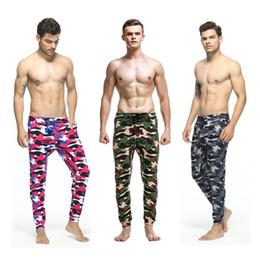 $enCountryForm.capitalKeyWord NZ - New Men' s Camouflage Pants low waist men casual Trunks Comfort Homewear Fitness Workout pants hip-hop sport men pants