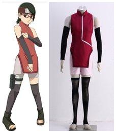 make naruto cosplay 2019 - Naruto RT Uchiha Sarada outfit Cosplay Costumes discount make naruto cosplay