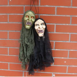 2017 new halloween terrifying props haunted house decorative electric products voices loudspeaker skeleton ghosts free shipping discount electric halloween - Discount Halloween Props