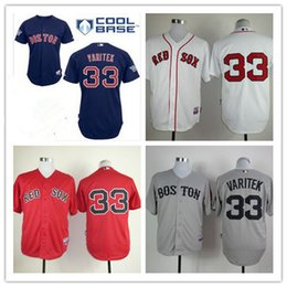 1edbe999 ... Top quality 2017 Boston Red Sox Mens 33 Jason Varitek jerseys Cool Base  Embroidered baseball jerseys ...